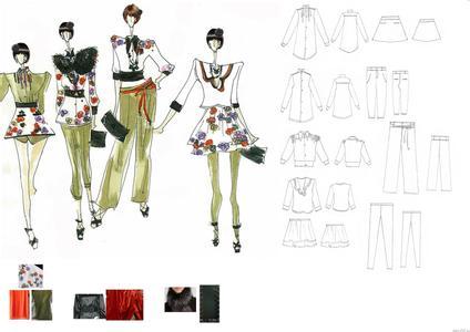 漫画手绘学习服装